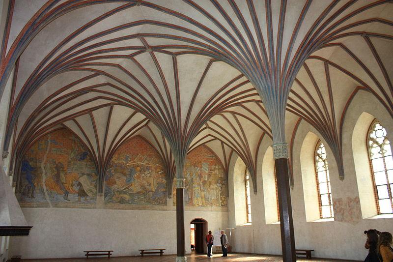 Malbork zamek wielki refektarz