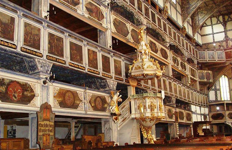Kościół pokoju Jawor wnętrze