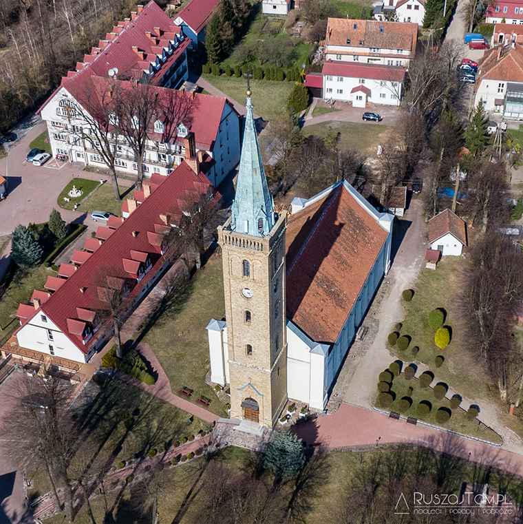 Kościół Świętej Trójcy - Mikołajki