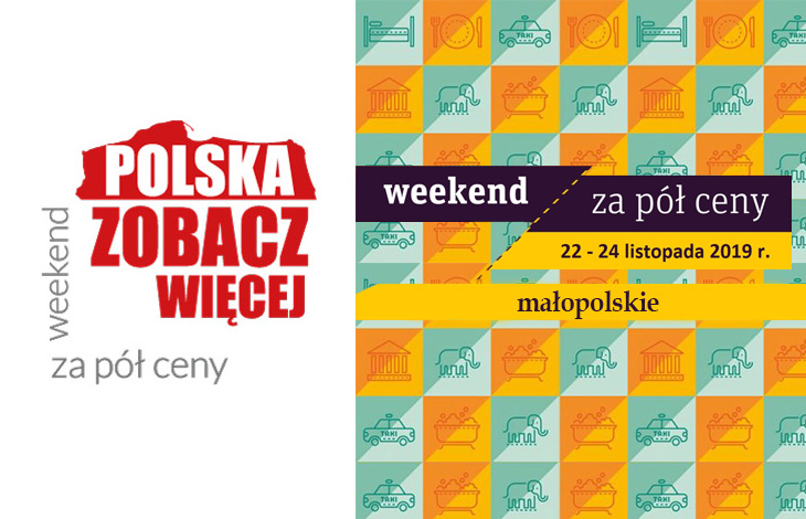 Weekend za pół ceny - małopolskie