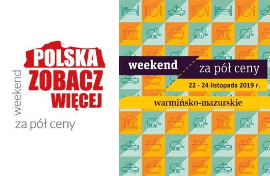 Weekend za pół ceny – warmińsko-mazurskie