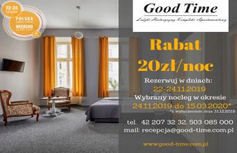Good Time - Łódzki Historyczny Kompleks Apartamentowy